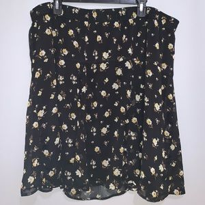 Floral Old Navy skirt